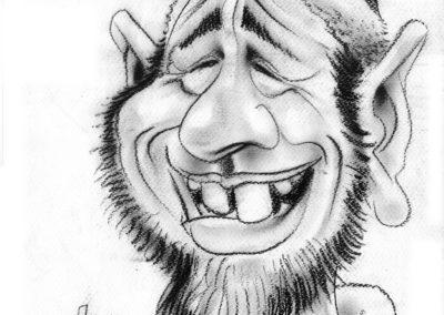 Père Noël-caricature