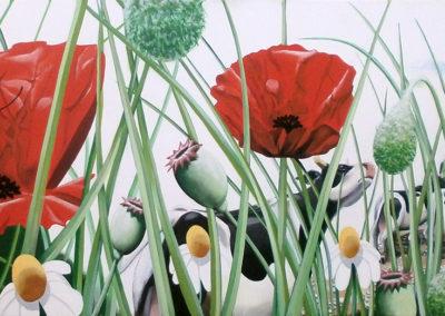 Poya insecte-peinture